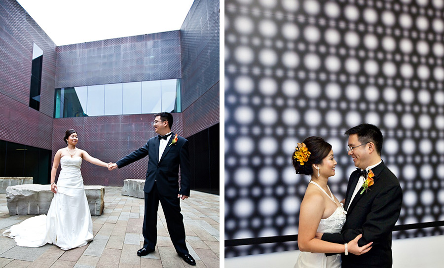 De Young Museum Wedding
