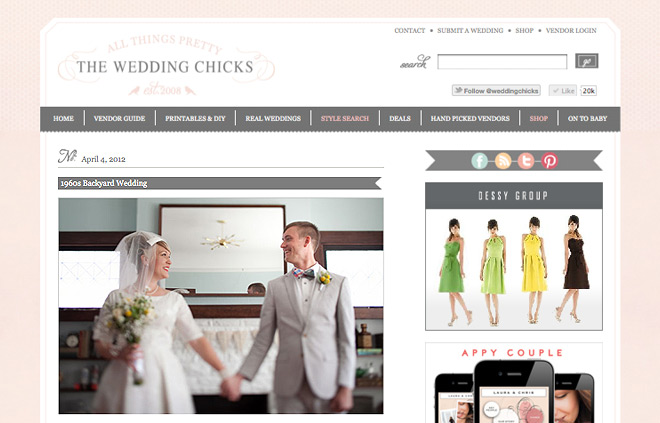Lilia Photography Featured on Wedding Chicks