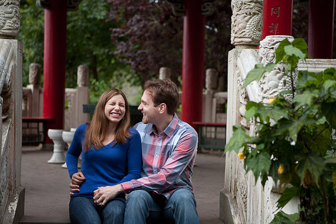 Golden Gate Park San Francisco Engagement Session