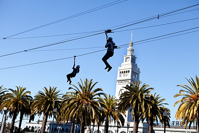 San Francisco Zip Line