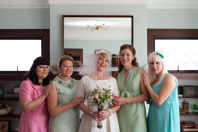 Sixties Vintage Wedding