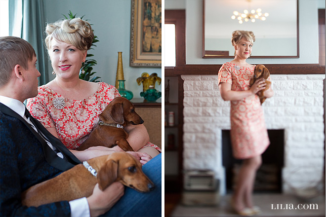 Oakland Engagement Session, Couple with their Dogs